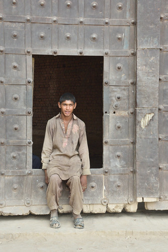 In the middle of Cholistan Desert