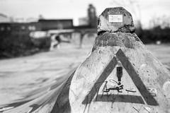 Obacht (chipsmitmayo) Tags: nikon f100 nikkor 50mm f18 ilford fp4 400 film analog schwarzweiss blackandwhite bw münster westfalen hafen decay monochrome labor