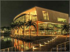 Shalala Center (ImageMD) Tags: miami university coralgables hdr night shalala student arquitectonica