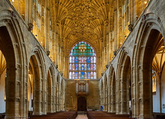 Sherborne Abbey, Dorset [EXPLORED] (JackPeasePhotography) Tags: sherborne dorset abbey minster cathedral sony a7rii march 2019 vaulting architecture gothic explore