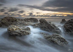 Crumbling rush (Steve Clasper) Tags: chemicalbeach seaham seascape northeast steveclasper sunrise