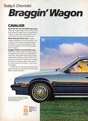1984 Chevrolet Cavalier 2.0 Litre 5 Door Wagon Page 1 USA Original Magazine Advertisement (Darren Marlow) Tags: 1 2 4 8 9 19 84 1984 c chev chevy chevrolet cavalier 20 l litre w wagon car cool collectible collectors classic a automobile v vehicle g m gm general motors u s us usa united states american america 80s