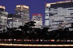 Marunouchi at Night (seiji2012) Tags: 東京 丸の内 皇居 夜景 japan tokyo marunouchi building night light happyplanet asiafavorites