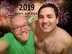 December 31, 2018 (365 Gay #2-137) (gaymay) Tags: california desert gay love palmsprings riversidecounty coachellavalley sonorandesert happynewyear 2019