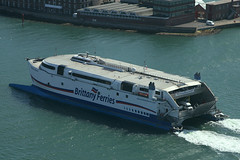 Normandie Express, Portsmouth, June 22nd 2008 (Southsea_Matt) Tags: normandieexpress brittanyferries portsmouthharbour portsmouth hampshire england unitedkingdom december 2018 winter canon 80d boat ship ferry sea transport vessel catamaran