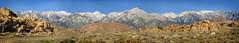 Sierra Crest and Mt Whitney from Lone Pine (Bruce Lemons) Tags: sierra sierranevada mountains backpacking hike hiking wilderness landscape california owensvalley easternsierra mtwhitney lonepine