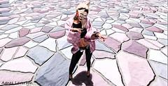 [vagrant] stones (Agnes Leverton) Tags: pink vagrant stones vagina girl fashion art photograppher agnes leverton krakow poland secondlife antycreatica