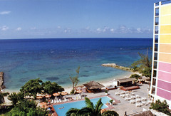 The View from Hotel Room in Montego Bay (HarveNYC) Tags: jamaica 1992
