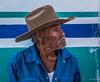 2018 - Mexico - Oaxaca - Ocotlán de Morelos  - Market Day - 10 of 12 (Ted's photos - Returns late Feb) Tags: 2018 cropped mexico nikon nikond750 nikonfx oaxaca tedmcgrath tedsphotos tedsphotosmexico vignetting ocotlan ocotlanmexico ocotlanoaxaca old oldman hat beard blue blueshirt