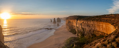 oceanview pano (deceptiv3) Tags: panorama 12 apostles great ocean road victoria australia beach sunset landscape cliffs