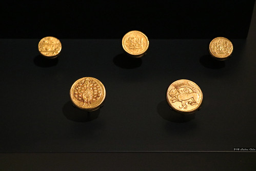 Persian gold coins