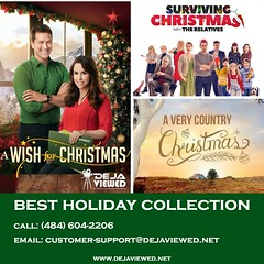 best holiday collection infograph (DeJaViewed) Tags: christmas holiday movies dvd blu ray 4k