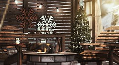 Snowflake (Alexa Maravilla/Spunknbrains) Tags: architect mudhoney prism secondlife sl decor home tree ornaments applefall myth