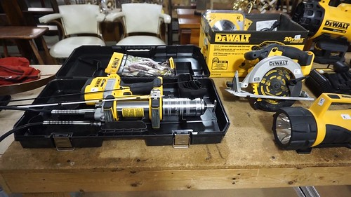 Dewalt grease gun ($123.20)