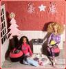 22.advent day - advent calendar with dolls (Mary (Mária)) Tags: barbie barbiebasic christmas christmastree advent calendar indoor diorama doll bunny angel winter music christmassong lp recordplayer handmade mattel marykorcek