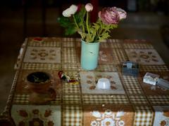 Table church Lysos (Jonathon Bennett Photos) Tags: greekorthodoxchurch religion table flowers insence offering lysos cyprus chapel
