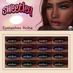 Sweetley - Eyelashes Roha add (Sweetley SL) Tags: sweetley eyelashes sl secondlife fashion style applier catwa hud mesh bento avatar trendy original copyright marketplace mainstore
