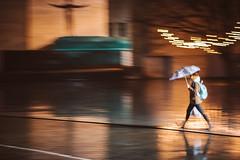 Raining   Kaunas #317/365 (A. Aleksandravičius) Tags: nikon z 7 nikonz7 z7 mirrorless street people lights bokeh motion blur dark rain city evening nikkor 85mm 85 365 3652018 85mmf18g nikkor85mm nikon85mm18g f18g nikon85mm project365 317365 panning