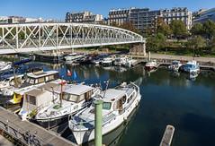 Bassin de l'Arsenal / Лодочный порт Арсенал (dmilokt) Tags: город city town пейзаж landscape улица street dmilokt порт port лодка boat