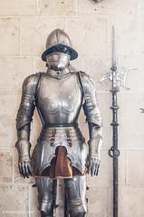 Segovia (sgarzulino) Tags: nikon 50mm spain color segovia knight weapon medieval war man