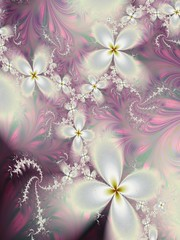 Ode to Spring (bloorose-thanks 4 all the faves!!) Tags: ultrafractal uf fractal flowers floral fantasy spirals digital art abstract