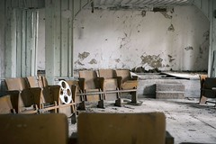 'It's reel'..... (Taken By Me Photography) Tags: abandoned adventure building reel seat seats theatre theme closed creepy centre chemical chernobyl derelict decay dark d750 demolished door explore exploring empty eerie forgotten floor gone left nikon neglect news nuclear power plant pripyat ruin shut takenbyme takenbymephotography urbex urban ue ukraine wwwtakenbymephotographycouk zone