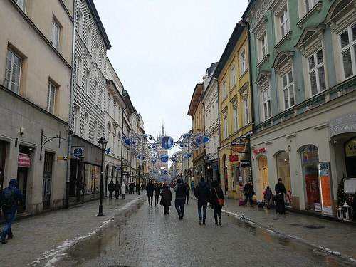 Ulica Floriańska w Krakowie
