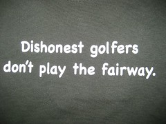 Dishonest Golfers T-Shirt (wpgtshirtguy) Tags: dishonest golfers golf golfing play fairway tshirt shirt funny comical comic wit humor humorous