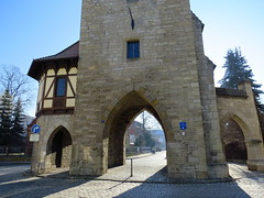 Durchblicke (germancute) Tags: arnstadt ried turm thuringia thüringen stadt building history