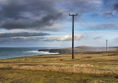 West Clare coast (irishman67) Tags: countyclare clouds cliffs atlanticocean fuji ireland landscape moody ocean seascape sea winter wildatlanticway