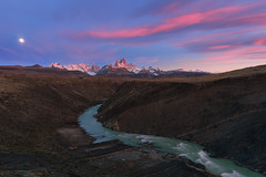 River to Fitz Roy (Iurie Belegurschi www.iceland-photo-tours.com) Tags: patagonia chile argentina river glacial peaks mountain mountains mountainrange montefitzroy moon sunrise pink cloud water adventure beautiful cloudy clouds dreamscape earth enchanting extremeterrain extreme fineart fineartlandscape fineartphotography fineartphotos guidedphotographyworkshops guidedphotographytour icelandphototours iuriebelegurschi landscape landscapephoto landscapes landscapephotos nature outdoor outdoors phototours phototour tranquil rocks rocky rock rockystrata summer serene sky snow snowy snowcapped tours travel travelphotography view workshop workshops fitzroy