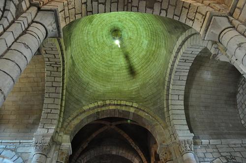 Eglise romane Saint Pierre (XIIe), Saint Pierre-Toirac, Quercy, Lot, Occitanie, France.