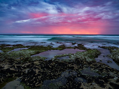 Rye Sunset (RP Major) Tags: rye victoria hoya long exposure beach sky sunset colours landscape sea ocean clouds night