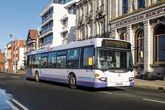 65008 YN54NZD (PD3.) Tags: scania omnicity 65008 yn54nzd yn54 nzd bus buses psv pcv hampshire hants england uk portsmouth solent first group fhd firstbus
