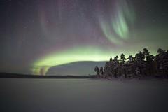 aurora 7.2.2019 (Hotel Korpikartano) Tags: green hotelkorpikartano korpikartanofi menesjarvi inarilapland laplandfinland finland northernlights auroraborealis revontulet