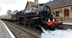 SEVERN VALLEY RAILWAY SPRING GALA (chris .p) Tags: arley worcestershire england nikon d610 station steam engine spring 2019 uk svr severnvalleyrailway springgala 75609