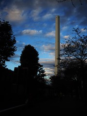 Tokyo (Meg Kamiya) Tags: tokyo japan light sky chimney olympus omd em10 daylight