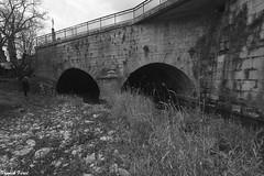 la Double entrée des Tunnels de la Furieuse - Salins Les Bains (francky25) Tags: la double entrée des tunnels de furieuse salins les bains noir et blanc franchecomté souterrain