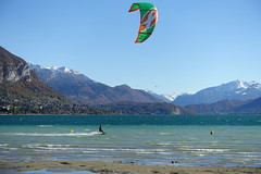 Kitesurfing @ Plage d'Albigny @ Lake Annecy @ Annecy-le-Vieux (*_*) Tags: lac lake mountain autumn automne fall 2018 october annecylevieux annecy 74 hautesavoie france europe plagedalbigny lakeannecy lacdannecy kitesurfing kiteboard sport wind wave kitesurfer kitesurf beach kiteboarding vent
