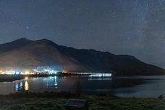 Ballachulish night sky (hotspurjohn) Tags: scotland scottishlandscape nightscape ballachulishvillage ballachulish lochleven discoverglencoe nightsky beinnabheithir hillofthethunderbolt mountain munro landscape nightphotography