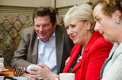 Liam Hegarty with Irish dignitaries