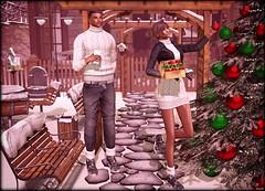 ♔ LoTd 287 (Victoria Michigan) Tags: eniipose cordeaux egozy clblue insurrektion fashionnatic truth stealthic akeruka lelutka maitreya signature happy xmas jian etre sl second secondlife life blogger blog group gift
