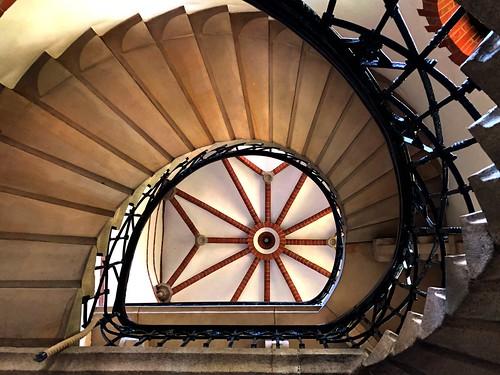 The fairytale-like staircase