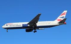G-BNWZ Boeing 767-336ER British Airways (R.K.C. Photography) Tags: gbnwz boeing 767336er b767 british britishairways speedbird ba baw aircraft airliners aviation london england unitedkingdom uk londonheathrowairport lhr egll canoneos100d