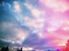 I want to be somewhere else (f l a m i n g o) Tags: done work arvada sky cloud