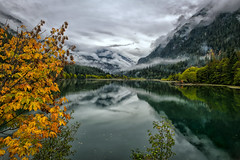 Winter's Coming...... (Philip Kuntz) Tags: autumn fall fallfoliage reflections diablolake thunderarm thundercreek glacialwaters northcascades northcascadesnationalpark washington