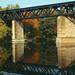 Railway Bridge over the Grand River,  Autumn Reflection