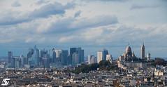 Skyline Old & New (A.G. Photographe) Tags: anto antoxiii xiii ag agphotographe paris parisien france frenc français europe capitale d850 nikon sigma 150600 montmartre ladéfense sacrécoeur