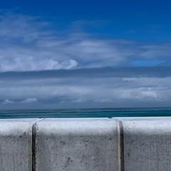 (francois f swanepoel) Tags: clouds falsebay atlanticocean blue concrete westerncape
