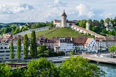 Schaffhausen Munot (olle.graf) Tags: 2018 olle burg castle fluss fujifilm may munot rhein river schaffhausen schweiz switzerland wasser water xe2 feuerthalen zürich